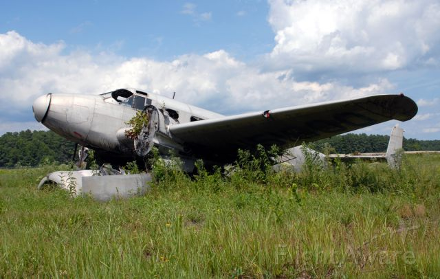 N51800 — - Former R&D aircraft for Pioneer Instruments Company.  Pioneer was purchased by Bendix Aviation Corporation.  Photographed 8-9-2006.