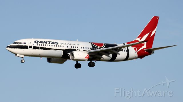 Boeing 737-800 (VH-XZJ) - Short Final To 16R
