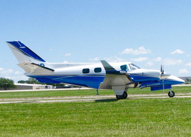 Beechcraft Duke (N14VP) - At AirVenture.