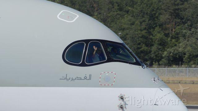 Airbus A350-900 (A7-ALB)