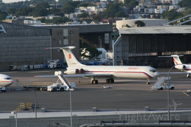 Ilyushin Il-62 (RNA86540) - From 2007, this plane was at Logan for about a week.