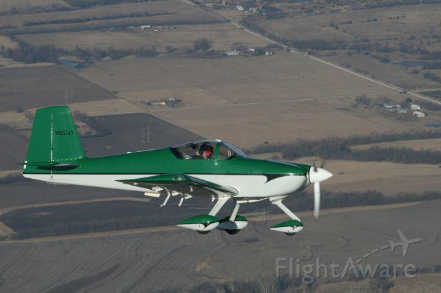 N217JT — - air to air work