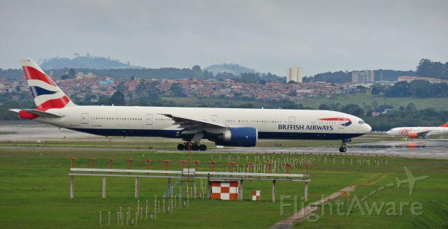 BOEING 777-300ER (G-STBB) - Foto: Gustavo Queiroz