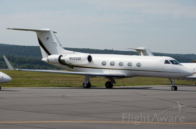 N500GF — - Gulfstream III N500GF operated by ADI - Aerodynamics Inc equipped with Hubbard Aviation Technologies QS3 Stage 3 Hush Kit