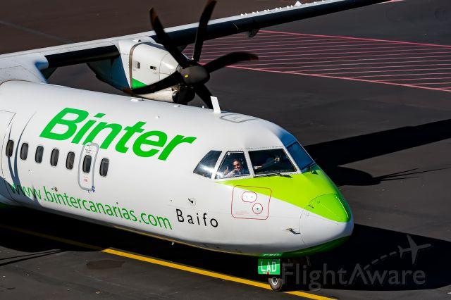 Aerospatiale ATR-42-300 (EC-LAD) - Dedicated to the co-pilot Mila Rojas