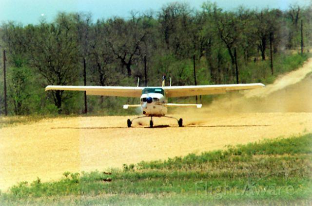 Cessna Centurion (ZS-AVB) - Landing at Ingwelala, South Africa.