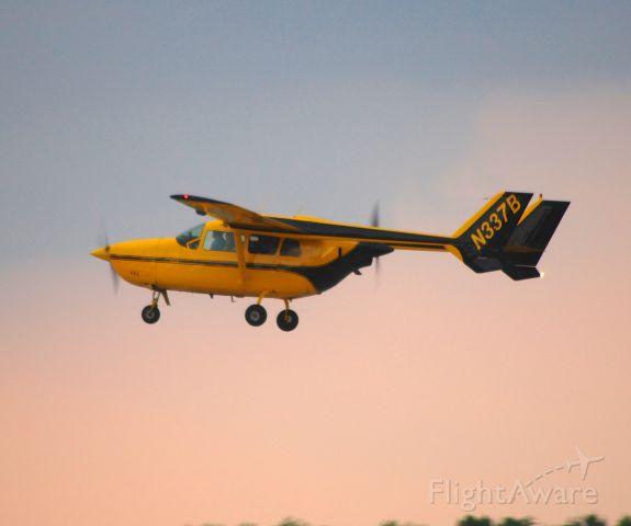 Cessna 336 Skymaster (N337B) - Departing EAA Airventure/Oshkosh on 24 July 2012