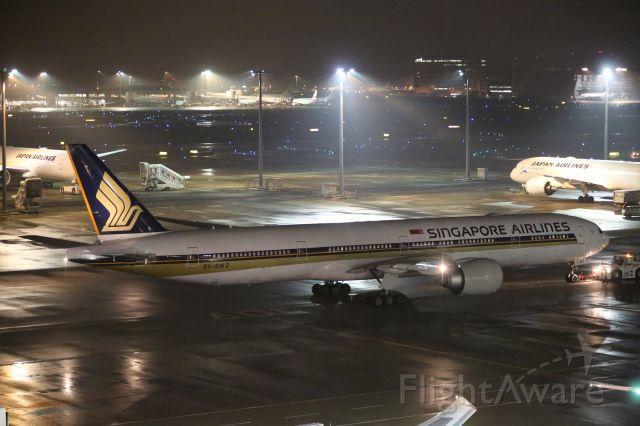 BOEING 777-300 (9V-SWE) - 23 September 2016: