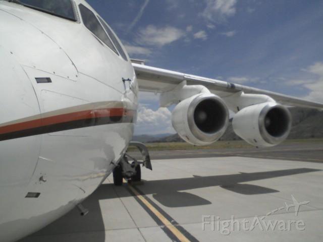 British Aerospace BAe-146-100 (N114M) - Corporate Jet