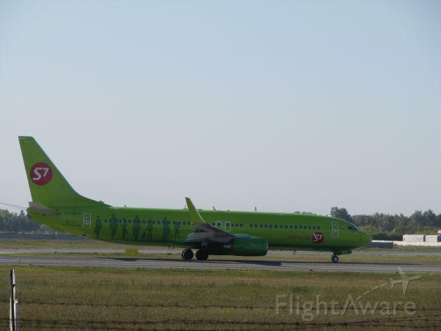 """Boeing 737-700 (VQ-BKV) - Novosibirsk """"Tolmachevo"""" 08/09/2012"""