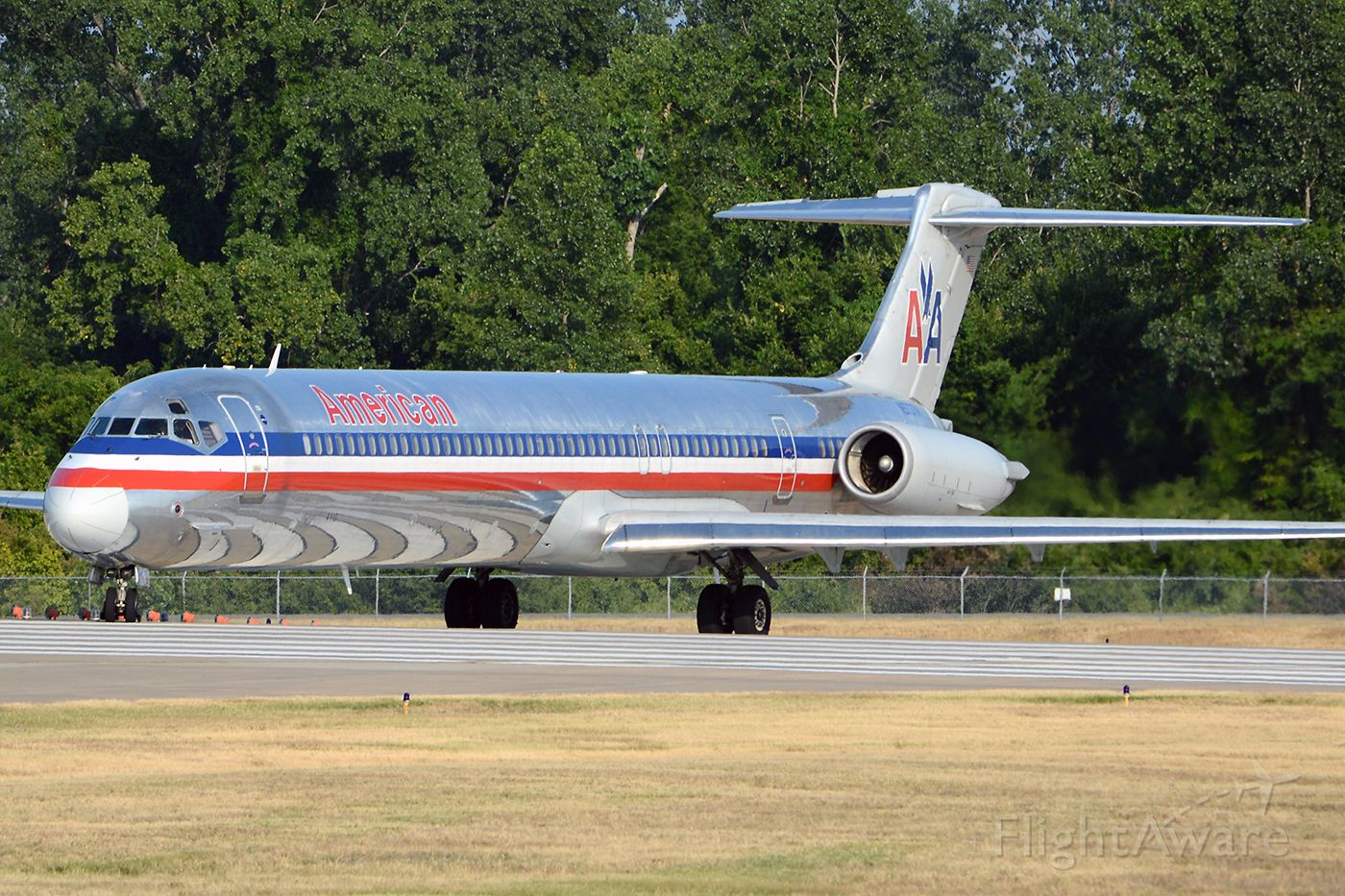 McDonnell Douglas MD-83 (N973TW) - July 2012, departing for DFW.