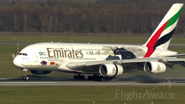 Airbus A380-800 (A6-EER)