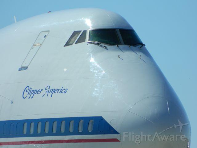 BOEING 747SP (N747A) - Frys Electronics B747SP