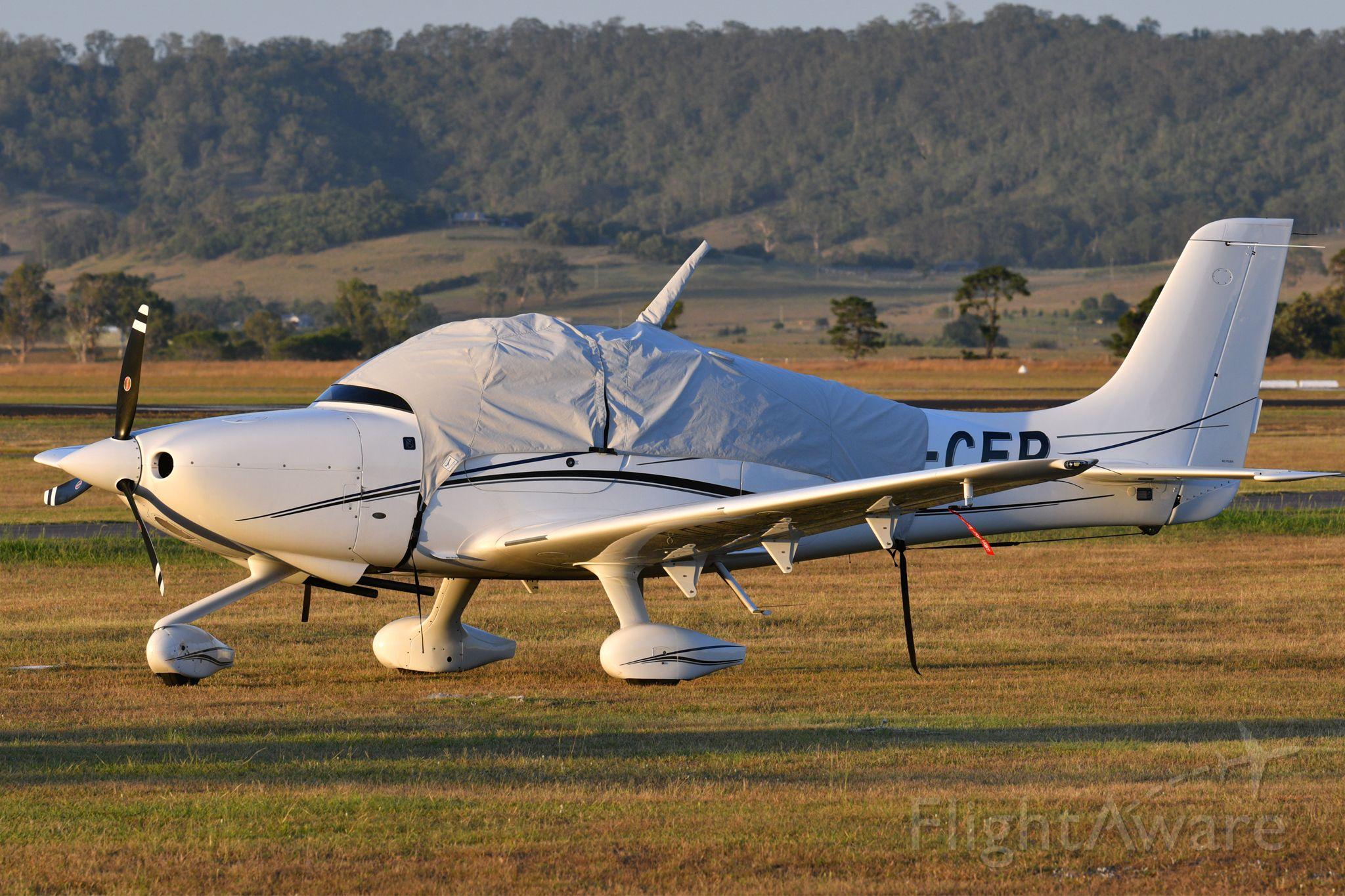 Cirrus SR-20 (VH-CEP) - 2014 Cirrus SR20.