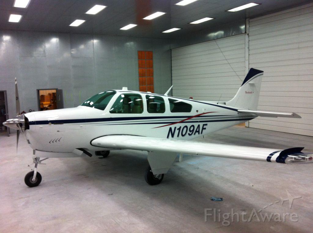 Beechcraft Bonanza (33) (N109AF)