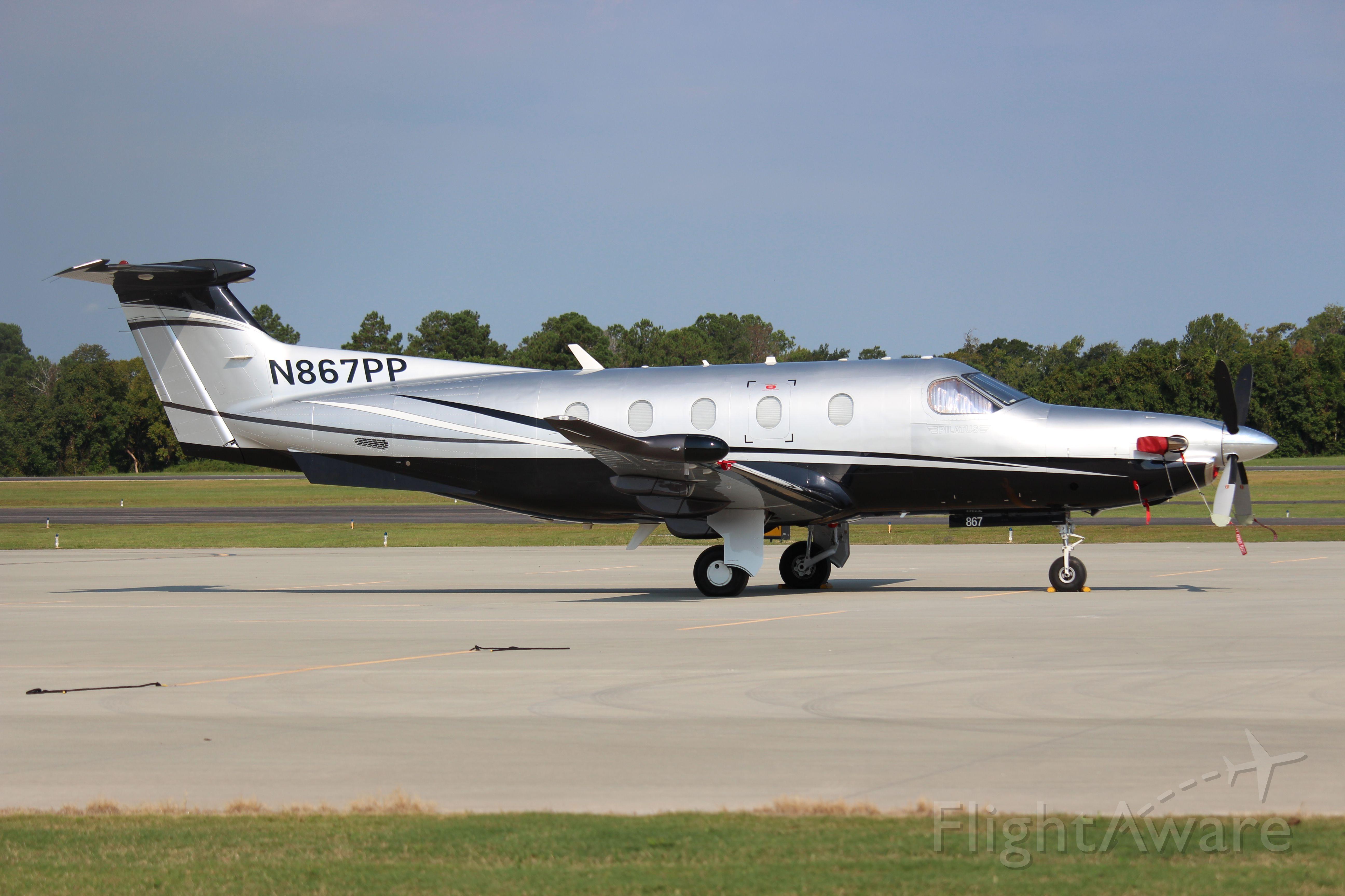 Pilatus PC-12 (N867PP)