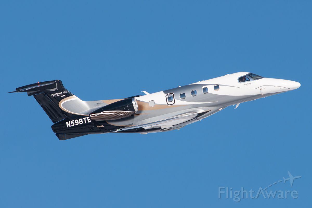 Embraer Phenom 100 (N598TB) - Shot I took at KAPA last week.