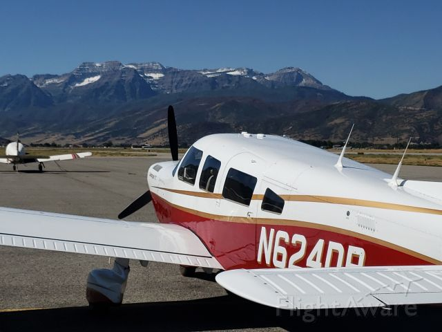 Piper Saratoga (N624DP) - Piper Saratoga N624DP - PA-32-301T - at Heber City, Utah, ready for a trip over to Park City