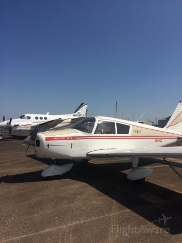Piper Cherokee (N98037) - Cherokee 140 just out of annual at North Texas Regional airport.