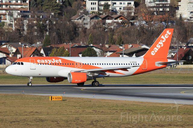 Airbus A320 (G-EZUA)