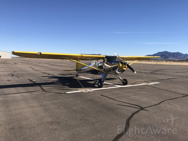 TEMCO Silvaire (NC2216B) - Stopped at Demming, NM for fuel