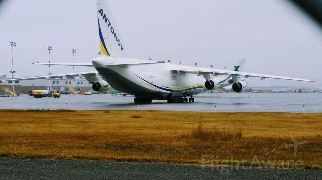 UR8200 — - Cargo Ramp NW Parking