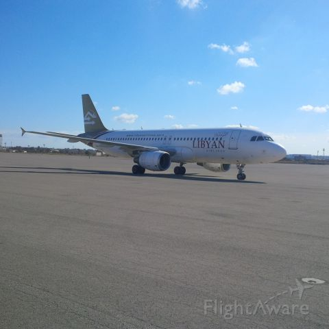 Airbus A320 (5A-LAP) - Libyan Airlines br /CNS/ATM Unitbr /ICT Department