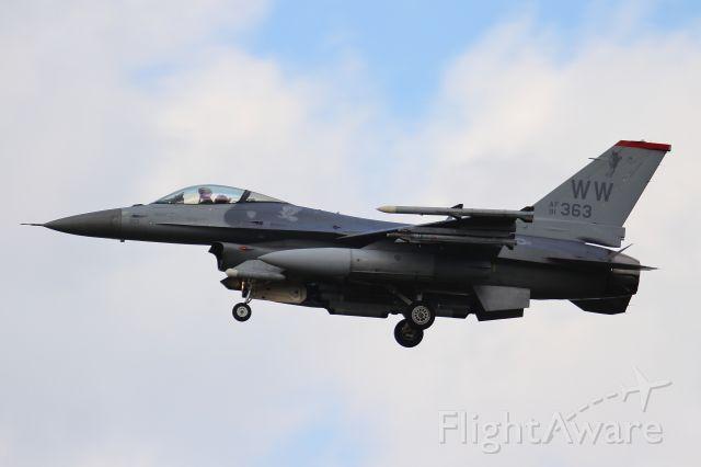 Lockheed F-16 Fighting Falcon (91-0363)