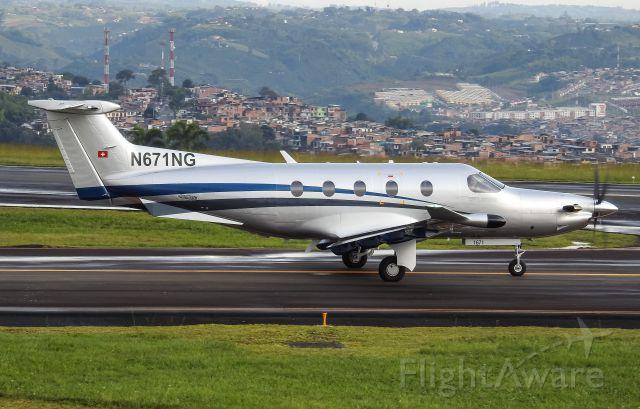 Pilatus PC-12 (N671NG)