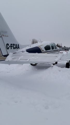 Beechcraft 55 Baron (C-FCAA)