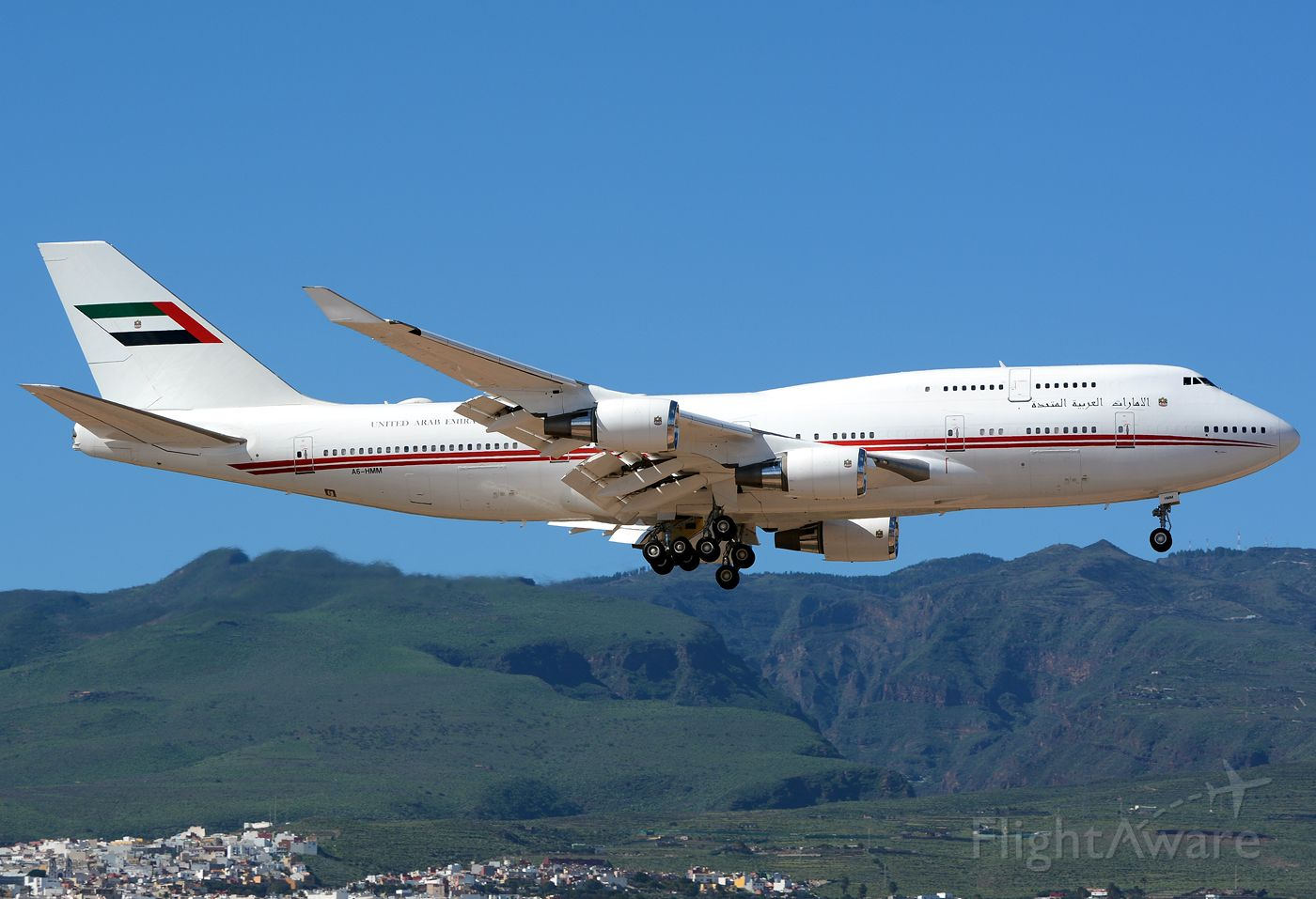 Boeing 747-400 (A6-HMM)