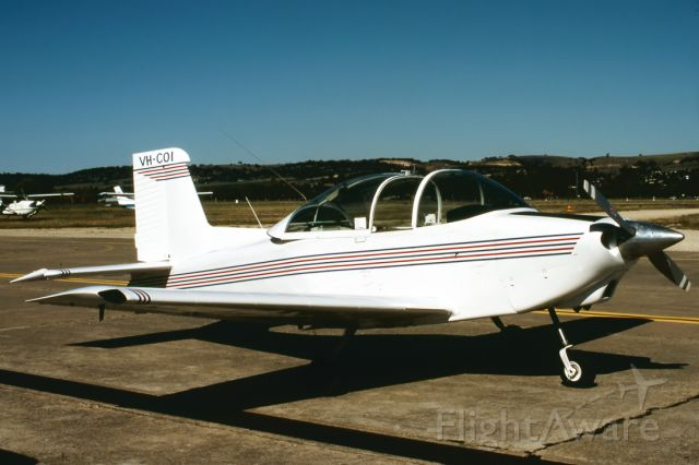 VICTA Airtourer (VH-COI) - AESL AIRTOURER 150 - REG : VH-COI (CN A537) - PARAFIELD AIRPORT ADELAIDE SA. AUSTRALIA - YPPF (26/10/1987