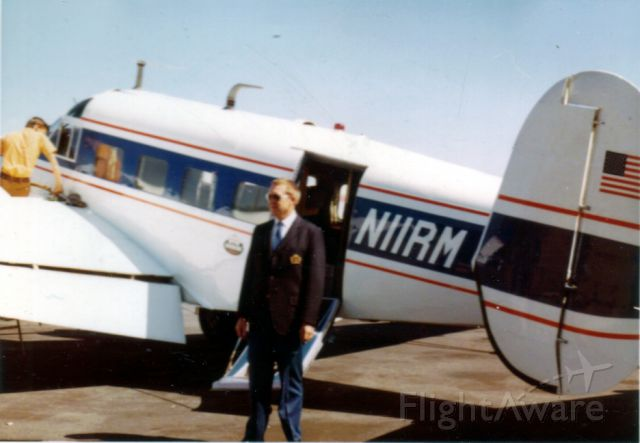 Beechcraft 18 (N11RM) - Owned by Riverside Manufacturing in Moultrie, GA.  Pilot Jim Dorough