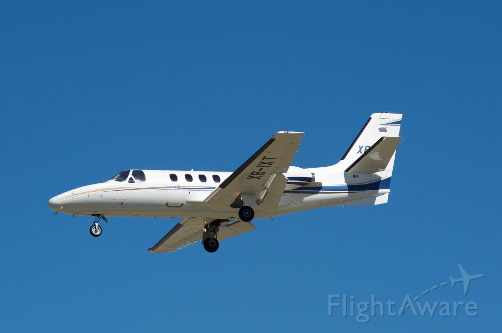 Cessna Citation 1SP (XB-IXT) - Landing 30L KHOU