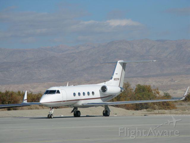 GROB Tutor (N357PR) - Gulfstream type G-1159A at Jacqueline Cochran (Therma), CA