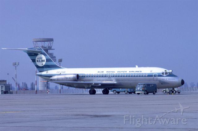 Douglas DC-9-10 (PH-DNB) - July 1969 at Düsseldorf (EDDL)