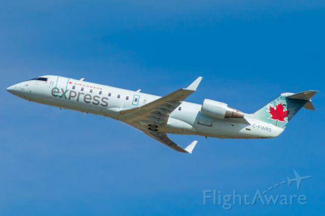 Canadair Regional Jet CRJ-100 (C-FWRS) - Air Canada Express (Air Georgian) leaving CVG for YYZ.