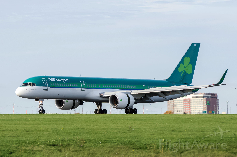 Boeing 757-200 (EI-LBR) - Aer Lingus 757-200 EI-LRB landing