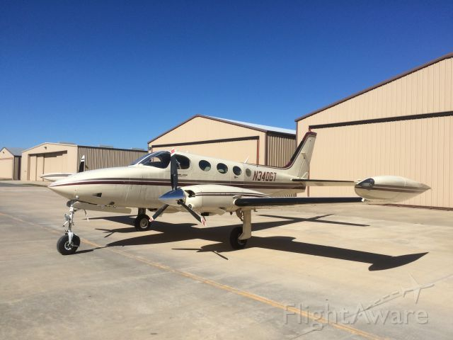 Cessna 340 (N340GT)