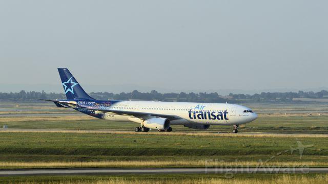 Airbus A330-300 (C-GTSD) - le 24/07/2014 7h30 AM
