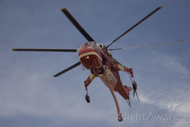 Sikorsky CH-54 Tarhe (N4037S) - Sonoita Az at work  #780