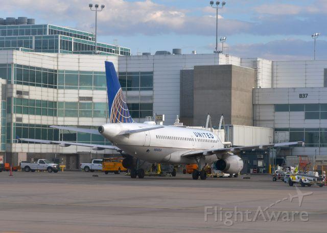 Airbus A319 (N840UA) - United Airlines Airbus A319-131 N840UA in Denver