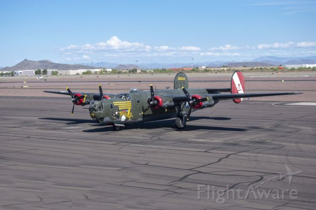 Consolidated B-24 Liberator (N224J) - Seen at the Phoenix Deer Valley Airport