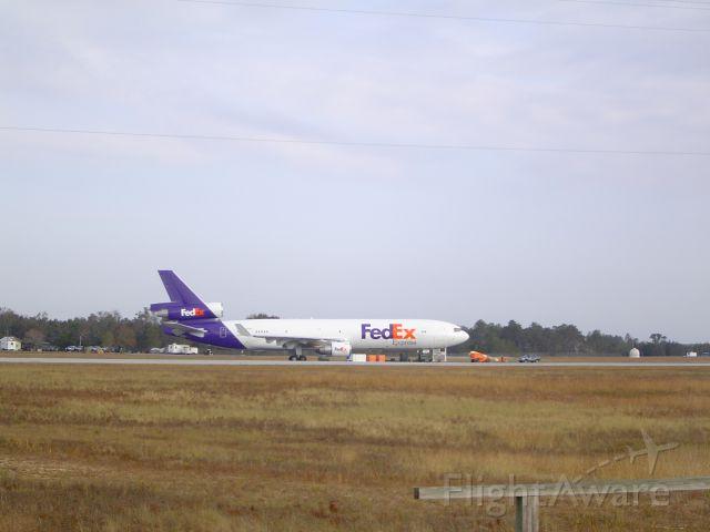 Boeing MD-11 (N525FE) - EGLIN AFB FLORIDA FOR TESTING OF C-MANPADS