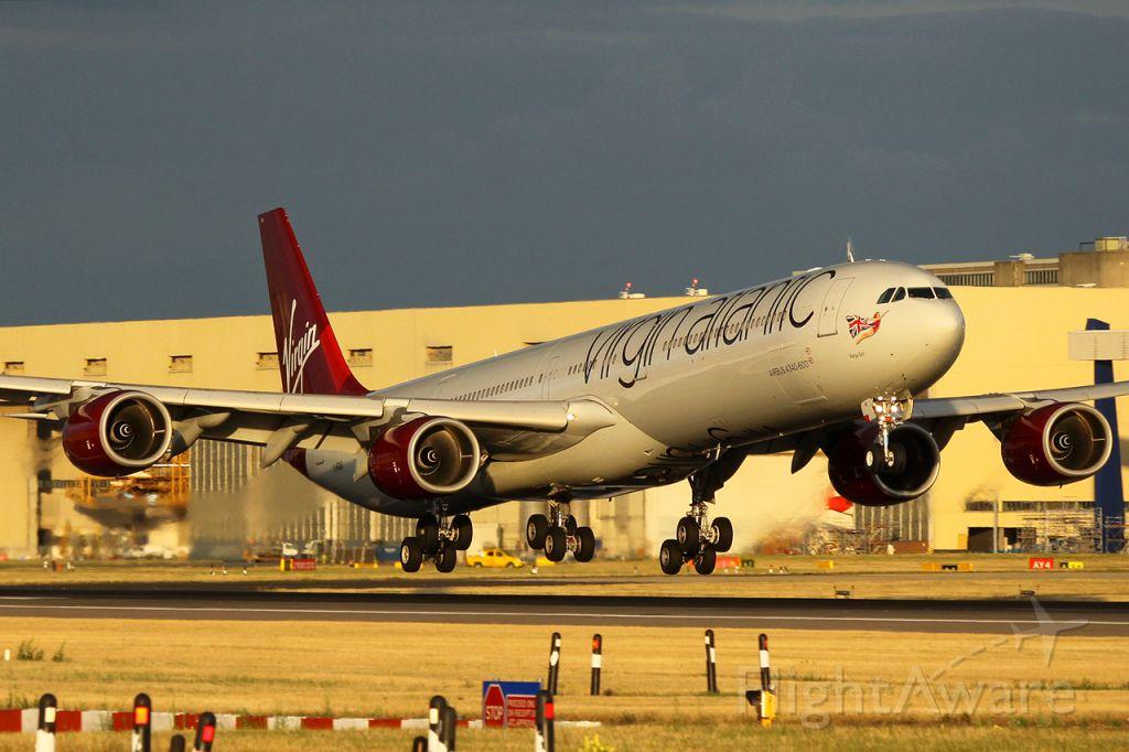 Airbus A340-600 (G-VGAS)