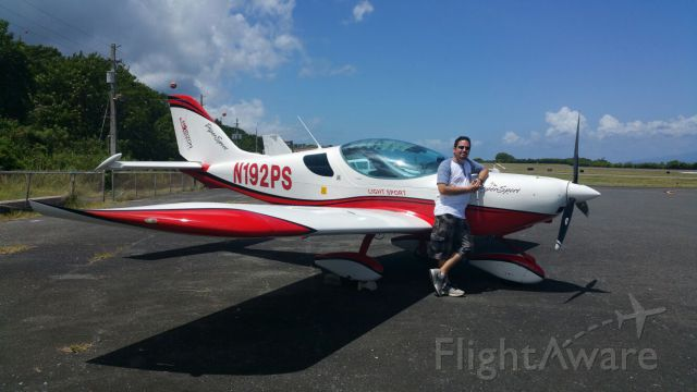 AMAX Sport 1700 (N192PS) - Piper Sport at Vieques