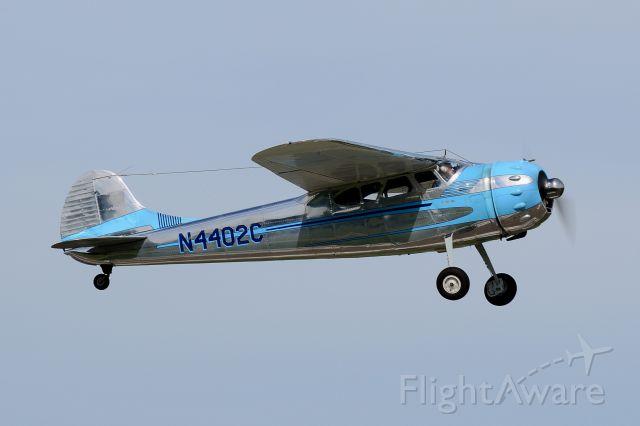 Cessna LC-126 (N4402C) - Departing Runway 8