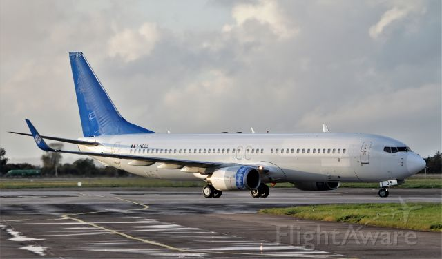 Boeing 737-800 (I-NEOS) - neos b737-86n i-neos arriving in shannon for paint into sun country n838sy 12/10/19.