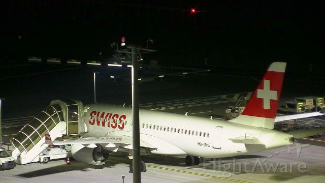Airbus A220-100 (HB-JBG)