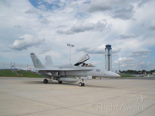 VFA106 — - Hornet stop in Roa.Va after V.T. flyover
